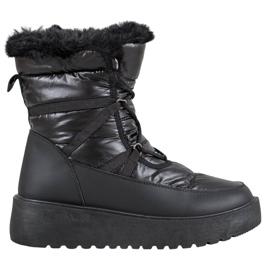 Bella Paris Śniegowce Fashion czarne