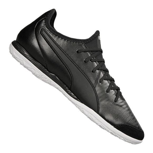 Buty halowe Puma King Pro It M 105669-01 czarne czarny