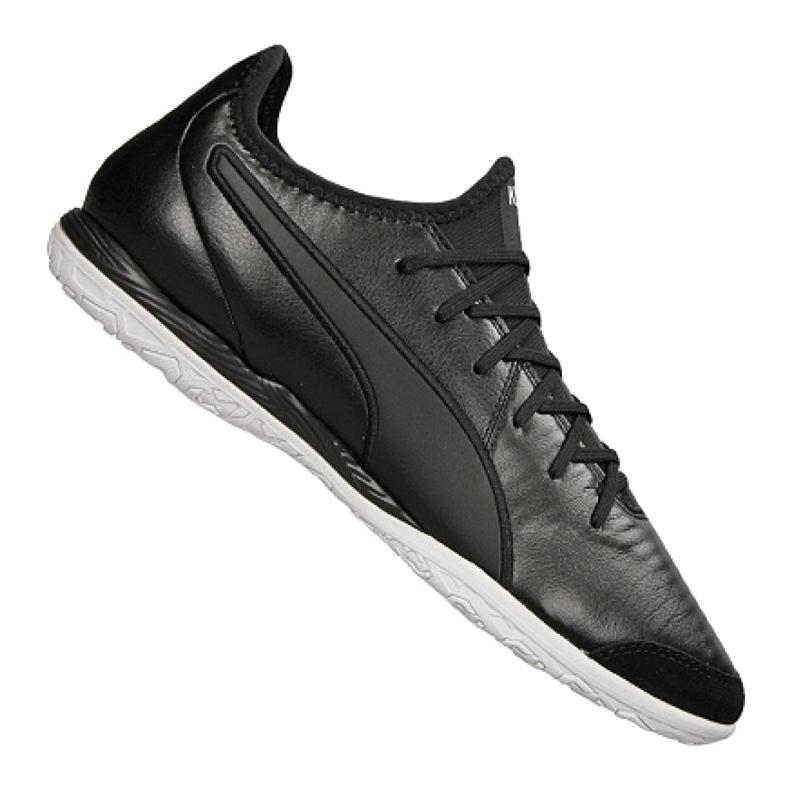 Buty halowe Puma King Pro It M 105669-01 czarne czarne