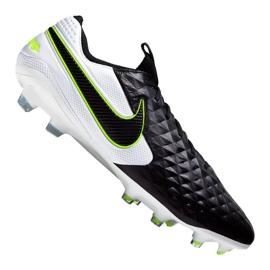 Buty piłkarskie Nike Legend 8 Elite Fg M AT5293-007 biały, czarny czarne