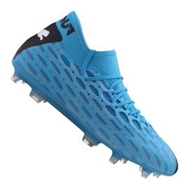 Buty piłkarskie Puma Future 5.2 Netfit Fg / Ag M 105784-01 niebieski niebieskie