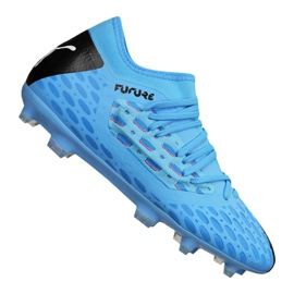 Buty piłkarskie Puma Jr Future 5.3 Netfit Fg Jr 105806-01 niebieski