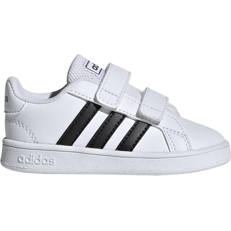 Buty adidas Grand Court I Jr EF0118 białe