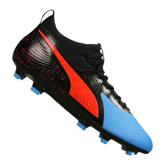 Buty piłkarskie Puma One 19.3 Syn Fg / Ag M 105487-01 czarne czarny, czerwony, niebieski