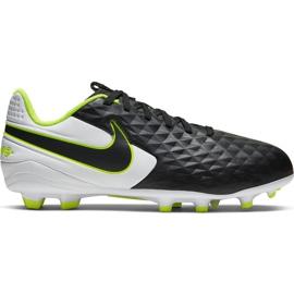 Buty piłkarskie Nike Tiempo Legend 8 Academy FG/MG Jr AT5732-007 czarne czarny