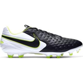 Buty piłkarskie Nike Tiempo Legend 8 Pro Fg M AT6133 007 biały, czarny, zielony czarne