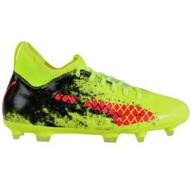 Buty piłkarskie Puma Future 18.3 Fg Ag Fizzy M 104328 01 zielone zielone