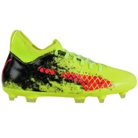 Buty piłkarskie Puma Future 18.3 Fg Ag Fizzy M 104328 01 zielone zielony