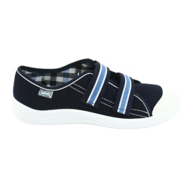 Befado obuwie dziecięce  672Y049 granatowe niebieskie