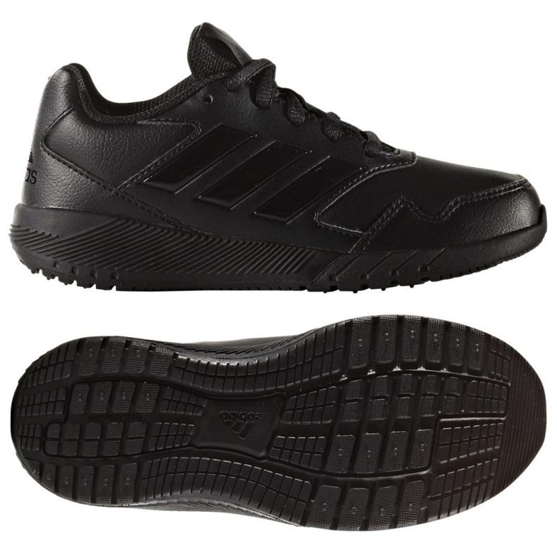 Buty treningowe adidas Alta Run K Jr BA7897 czarne
