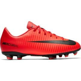 Buty Nike Mercurial Victory Vi Fg Jr 831945 616 czerwone