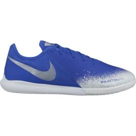 Buty halowe Nike Phantom Vsn Academy Ic M AO3225-410 biały, niebieski niebieskie