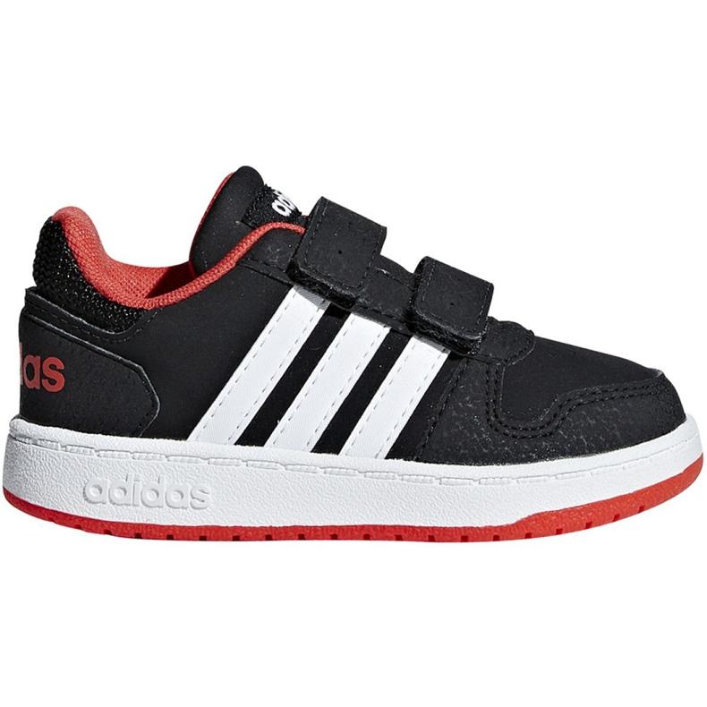 Buty adidas Hoops 2.0 Cmf I Jr B75965 czarne