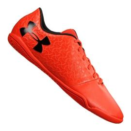Buty halowe Under Armour Magnetico Select Ic M 3000117-600 czerwone pomarańczowy