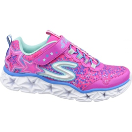 Buty Skechers Galaxy Lights Jr 10920L-NPMT różowe