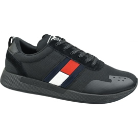 Buty Tommy Hilfiger Flag Flexi Tommy Jeans Sneakers M EM0EM00331 990 czarne