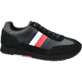 Buty Tommy Hilfiger Corporate Leather Flag Runner M FM0FM02380 990 czarne