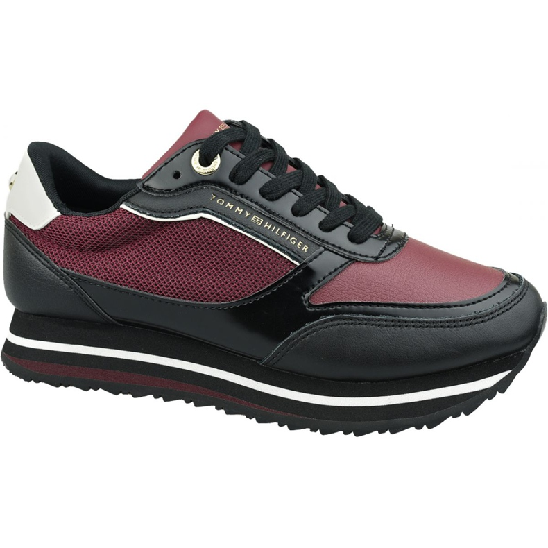Buty Tommy Hilfiger Tommy Retro Branded Sneaker W FW0FW04305 Gby czerwone