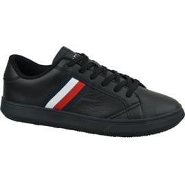 Buty Tommy Hilfiger Essential Leather Cupsole M FM0FM02388 Bds czarne