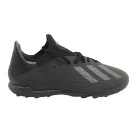 Buty piłkarskie adidas X 19.3 Tf M F35373 czarne
