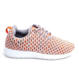 Sportowe buty Do Biegania Roshe KA537 Orange pomarańczowe