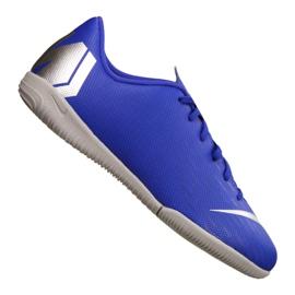 Buty Nike VaporX 12 Academy Gs Ic Jr AJ3101-400 niebieskie niebieski