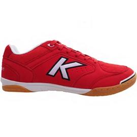 Buty halowe Kelme Precision Indoor 55211 0130 czerwone czerwony