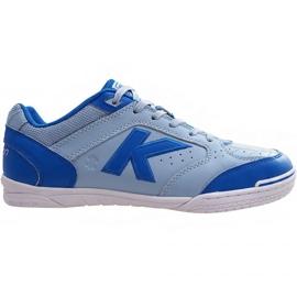 Buty halowe Kelme Precision Elite 2.0 Indoor 55871 9421 niebieskie niebieski