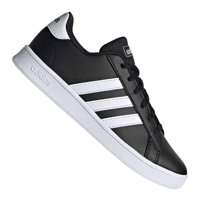 Buty adidas Grand Court Jr EF0102 czarne