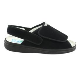 Befado obuwie damskie pu 983D004 czarne