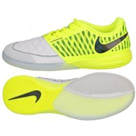 Buty halowe Nike Lunargato Ii Ic M 580456-703 żółte biały, żółty