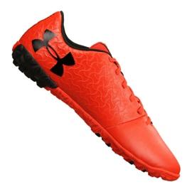 Buty piłkarskie Under Armour Magnetico Select Tf M 3000116-600 pomarańczowy czerwone