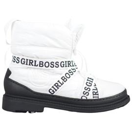 Vices Śniegowce Girl Boss białe