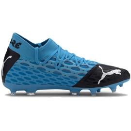 Buty piłkarskie Puma Future 5.2 Netfit Fg Evo M 105984 01 niebieski niebieskie