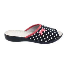 Befado obuwie damskie serduszka pu 254D099