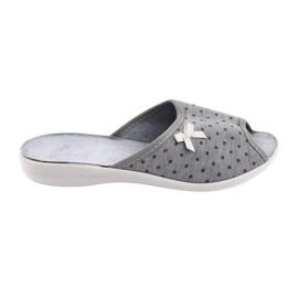 Befado obuwie damskie pu 254D047 szare