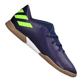 Buty adidas Nemeziz Messi 19.3 In Jr EF1815 granatowy fioletowe