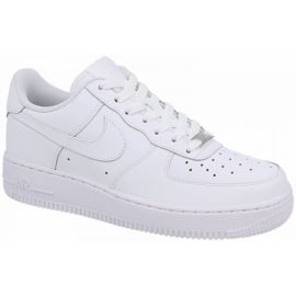 Buty Nike Air force 1 Gs Jr 314192-117 białe