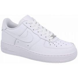 Buty Nike Air force 1 Gs Jr 314192-117 białe
