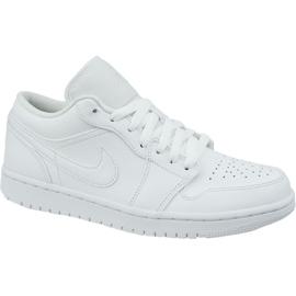 Nike Jordan Buty Jordan Air 1 Low M 553558-126 białe