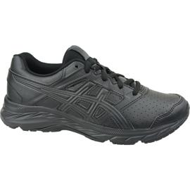 Buty biegowe Asics Contend 5 Sl Gs Jr 1134A002-001 czarne