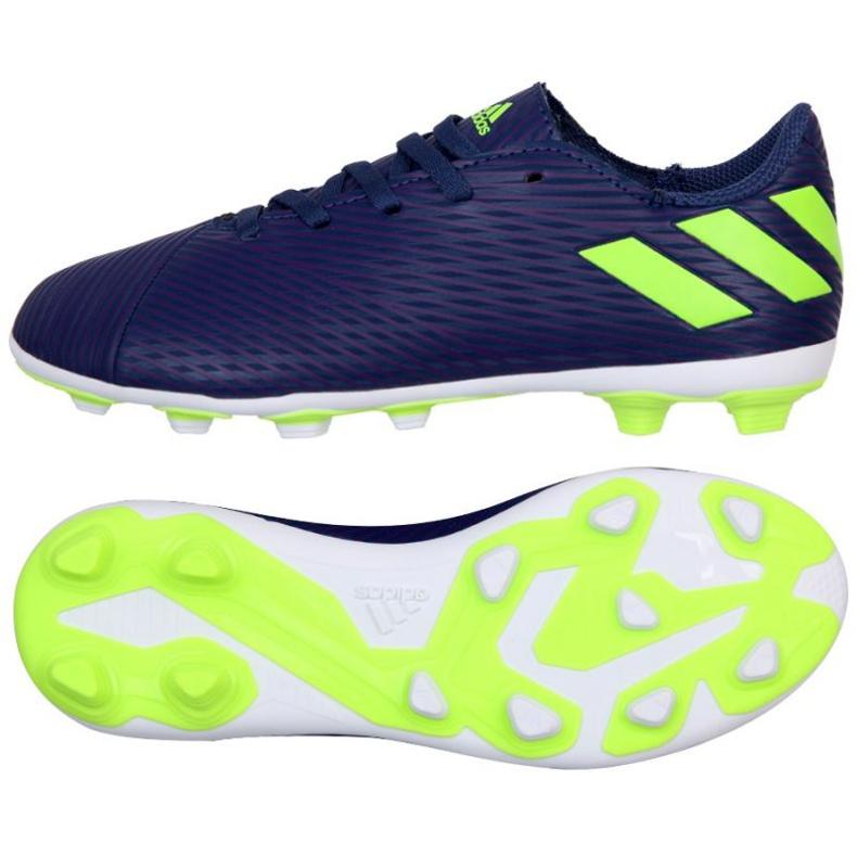 Buty adidas Nemeziz Messi 19.4 Fg Jr EF1816 fioletowe fioletowe