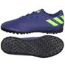 Buty adidas Nemeziz Messi 19.4 Tf Jr EF1818 granatowe granatowy