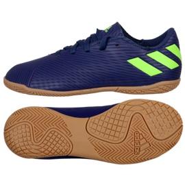 Buty piłkarskie adidas Nemeziz Messi 19.4 In Jr EF1817 granatowy granatowe