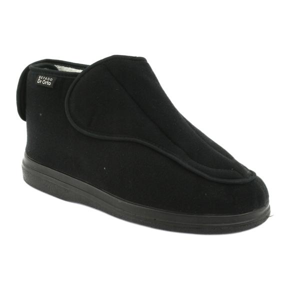 Befado obuwie męskie  pu orto 163M002 czarne