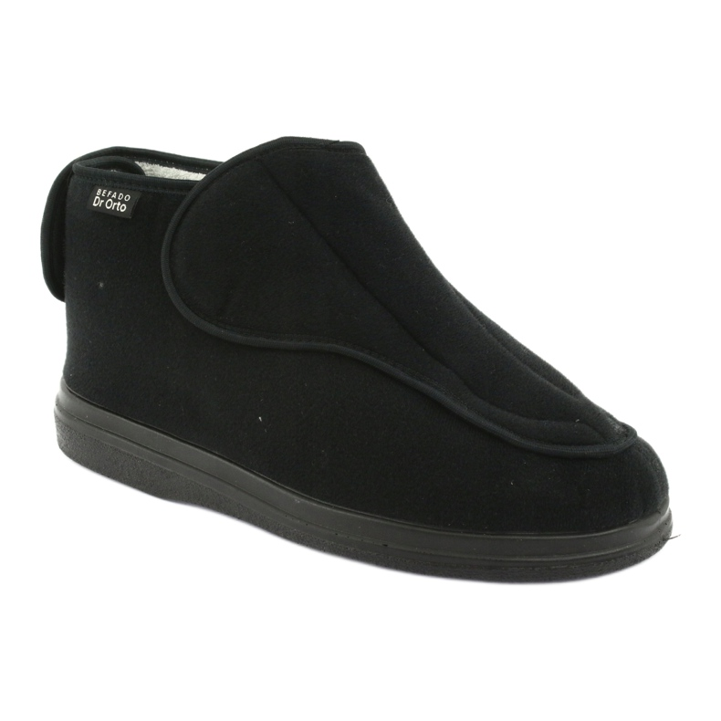 Orto Befado obuwie męskie pu 163M002 czarne