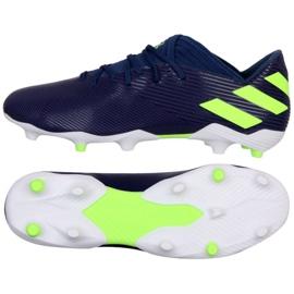 Buty adidas Nemeziz Messi 19.3 Fg M EF1806 fioletowy granatowe