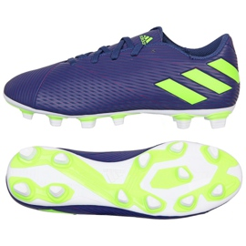 Buty adidas Nemeziz Messi 19.4 Fg M EF1807 fioletowe fioletowy
