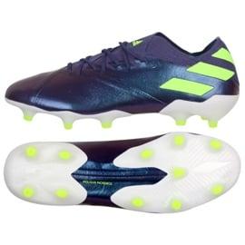Buty adidas Nemeziz Messi 19.1 Fg M EG7332 fioletowy fioletowe