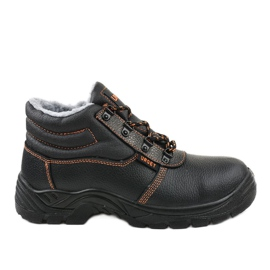 Czarne męskie obuwie ochronne XH009D